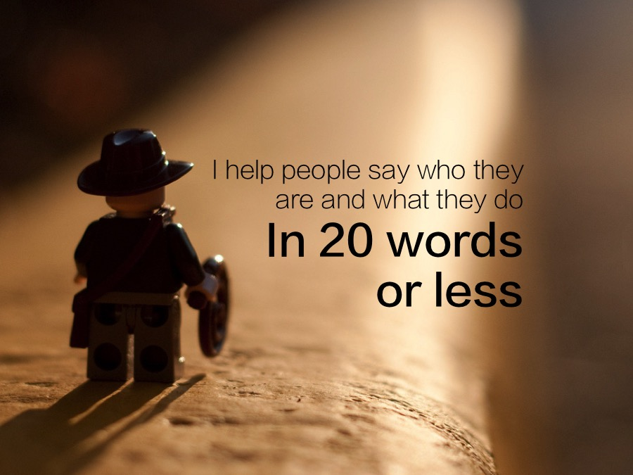 20 Words or less